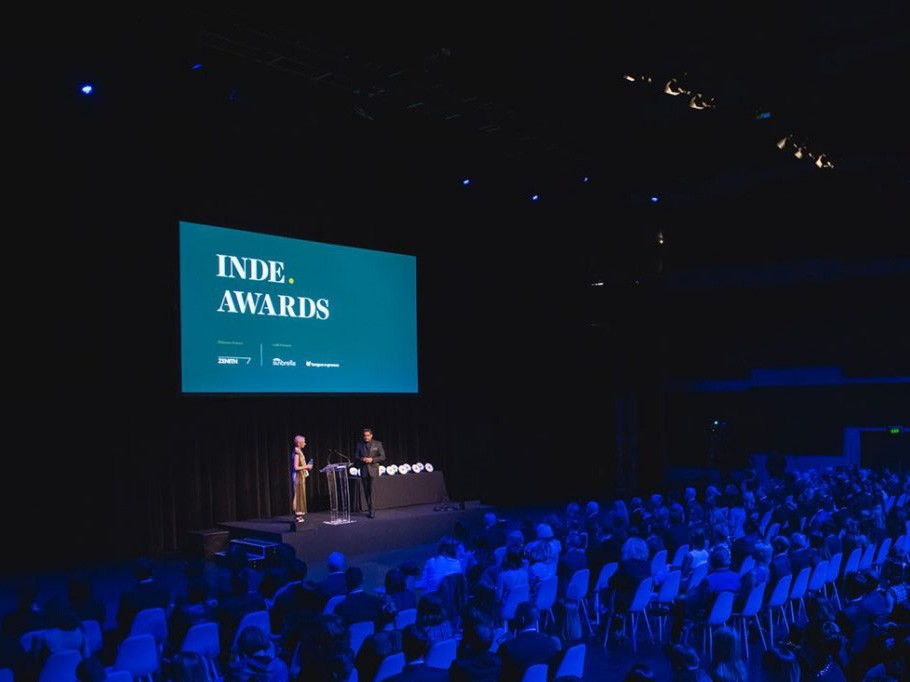 The 2017 INDE.Awards. Image: Indesign Media Asia Pacific