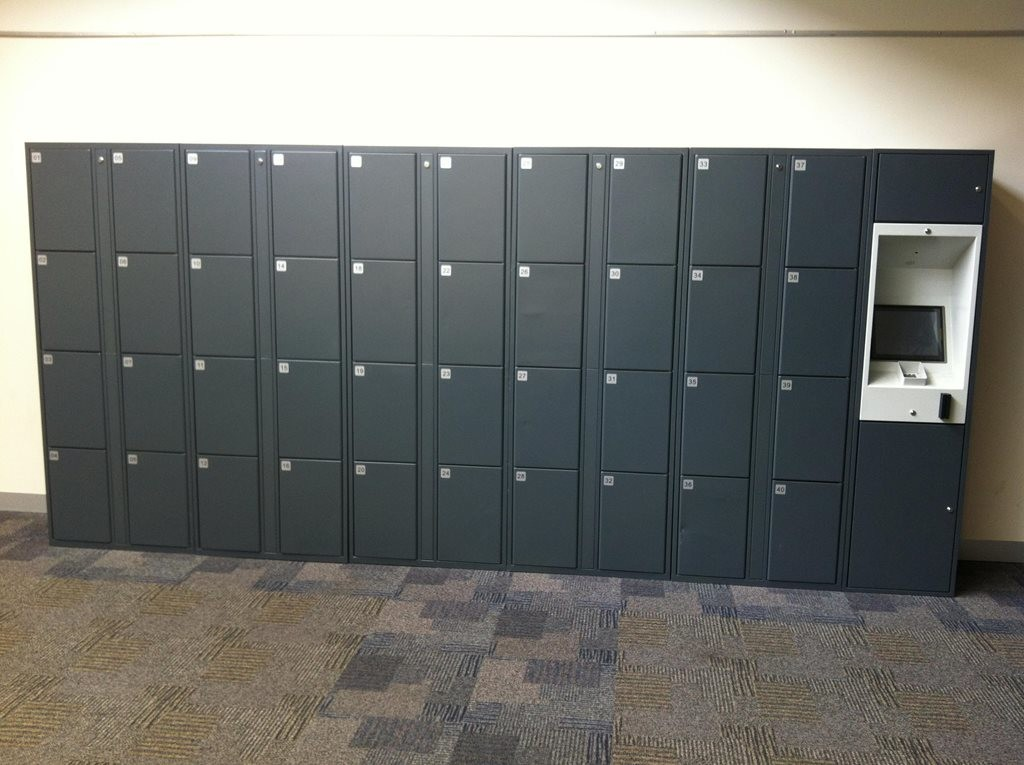 High Tech Student Locker Systems For Universities Tafe