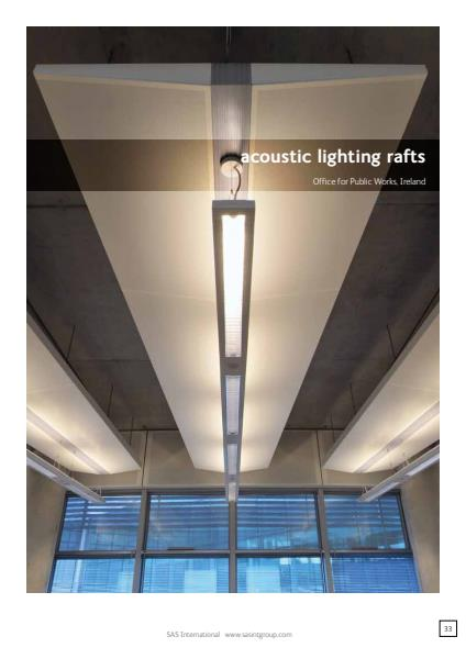 Acoustic Lighting Rafts Brochure