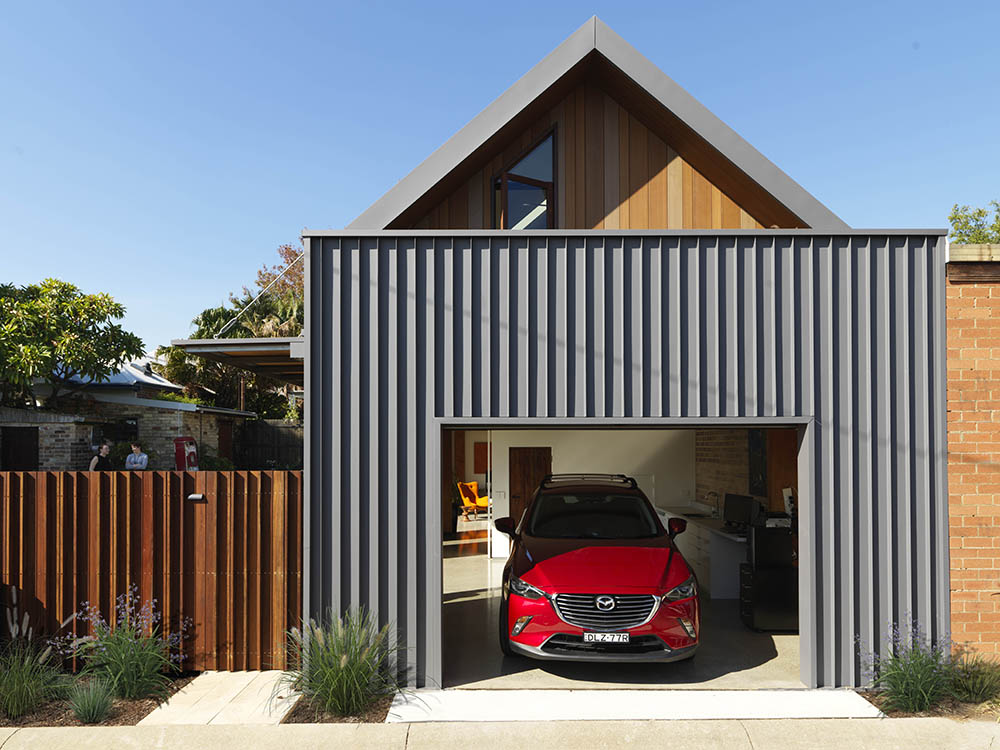 The Shed is a detached secondary dwelling house, fundamentally influenced by thermal and solar passive design principles and sustainable technologies. Image: Supplied