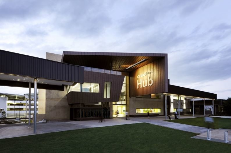 The Caboolture Hub by Peddle Thorp Architects & James Cubitt Architects. Photography by Roger D'Souza