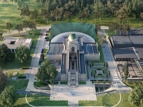 Cox and Carver deliver Australian War Memorial