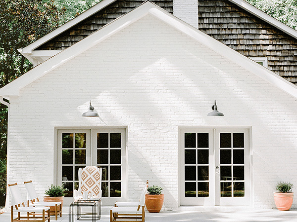 Painting Exterior Brick How To Paint A Brick Wall Architecture Design