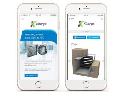 Kilargo IFD Selection App simplifies the selection of IFDs