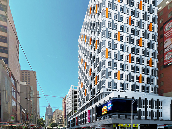 Works have been completed on a five-storey extension to 276 Flinders Street, a landmark moment for sustainable development in Australia underlined by the fact by using Cross-Laminated Timber (CLT) and a lightweight steel grid frame added to the existing building.