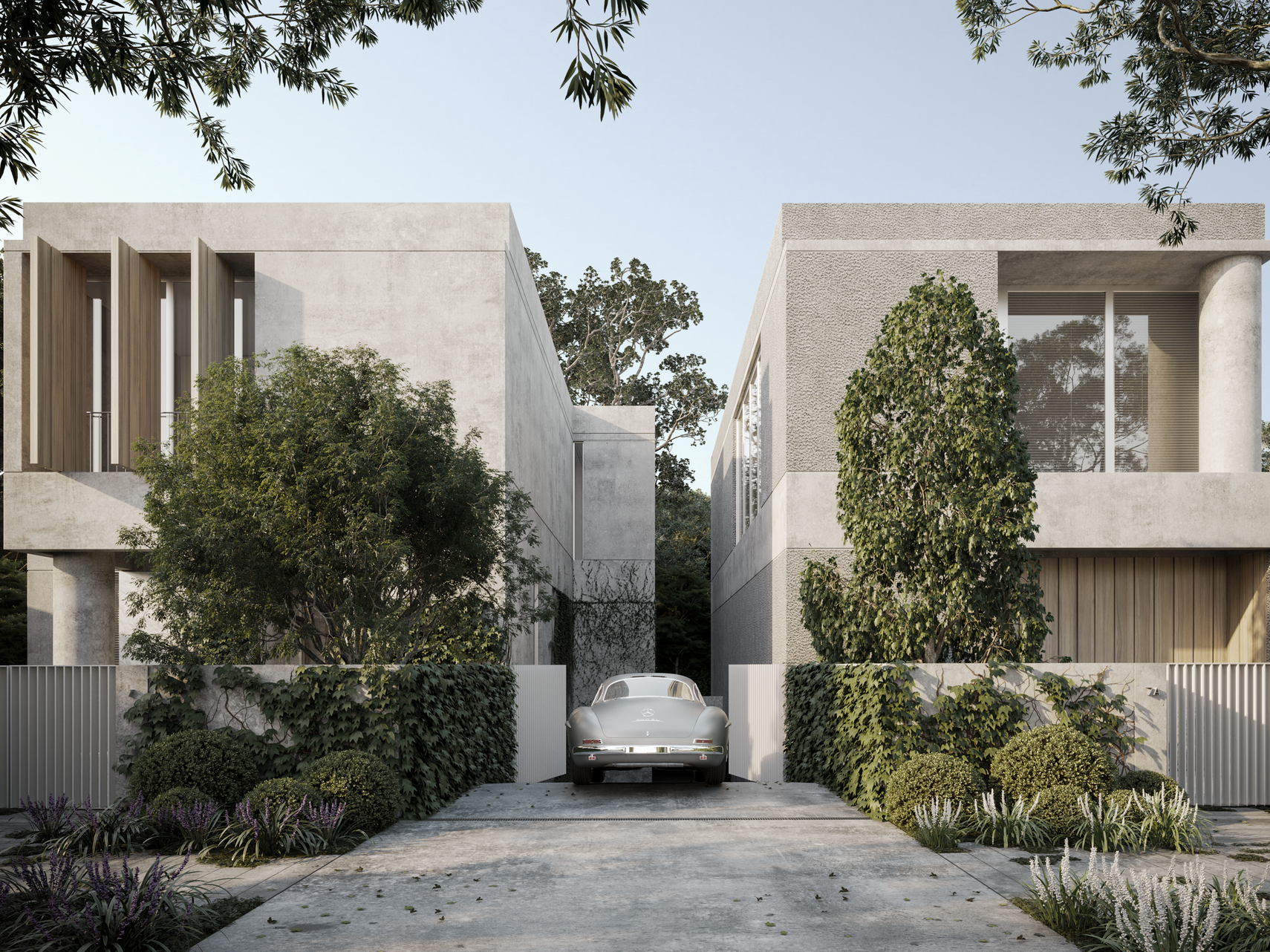 Homes with personalities: The Introvert and The Extrovert   Architecture & Design