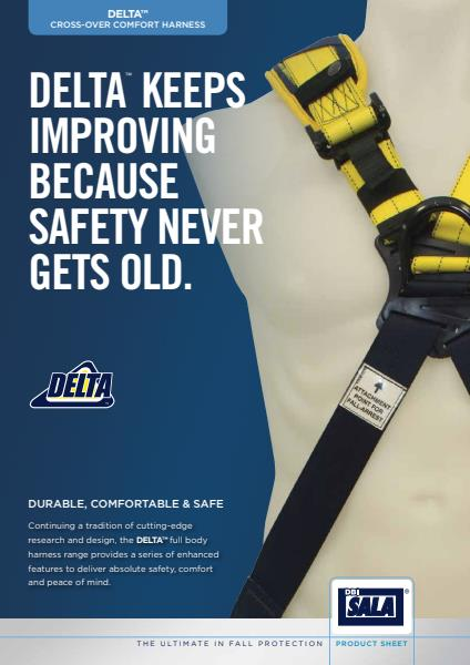 Capital Safety Delta cross over comfort harness brochure