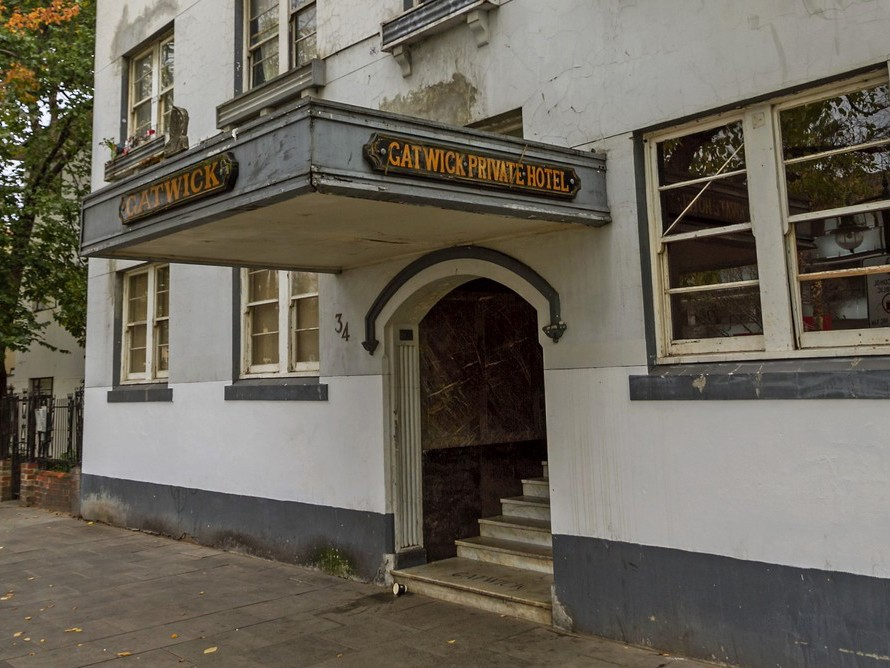 The closure of the Gatwick Hotel means those most in need of shelter have lost another place they could stay. Image: Shutterstock