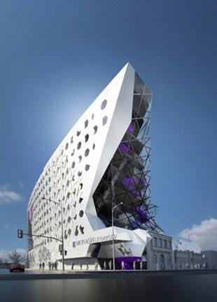 Monash university select winning design for new building for New build designs