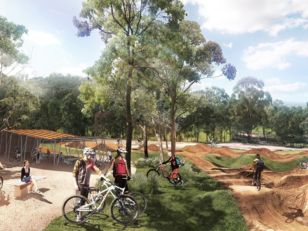 It seems there are big plans on the horizon for western Sydney, and many of them have a decidedly green tinge. Image: Arterra Interactive