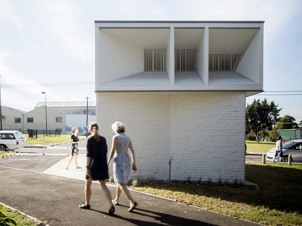 Sydenham Green Amenities by Sam Crawford Architects sets benchmark for public toilet designs