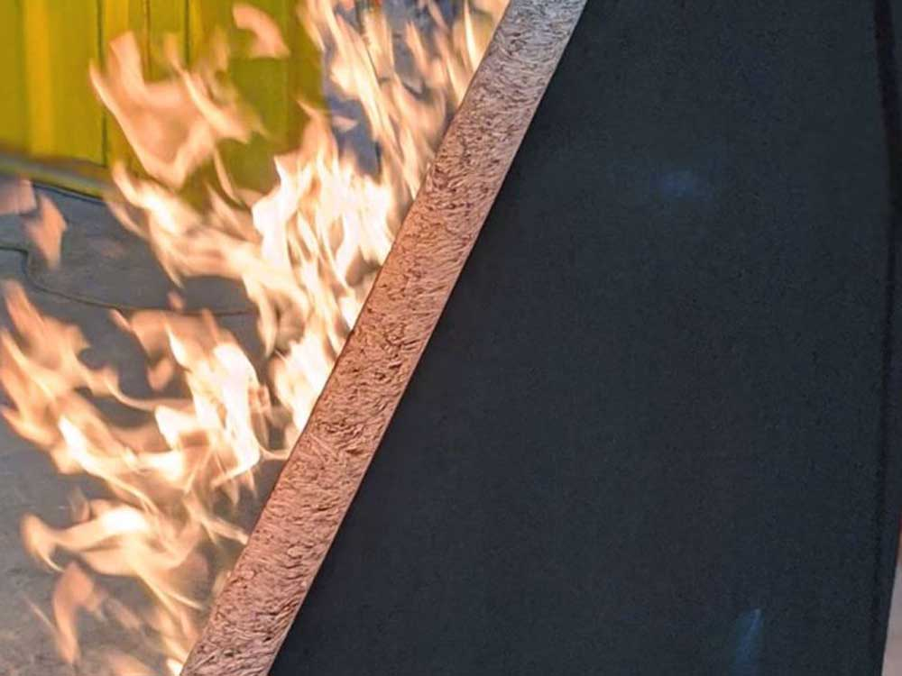 Durra Panel is a naturally fire-resistant building panel