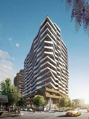 Hayball is currently delivering a number of residential projects across Brisbane, such as Chester & Ella in Newstead