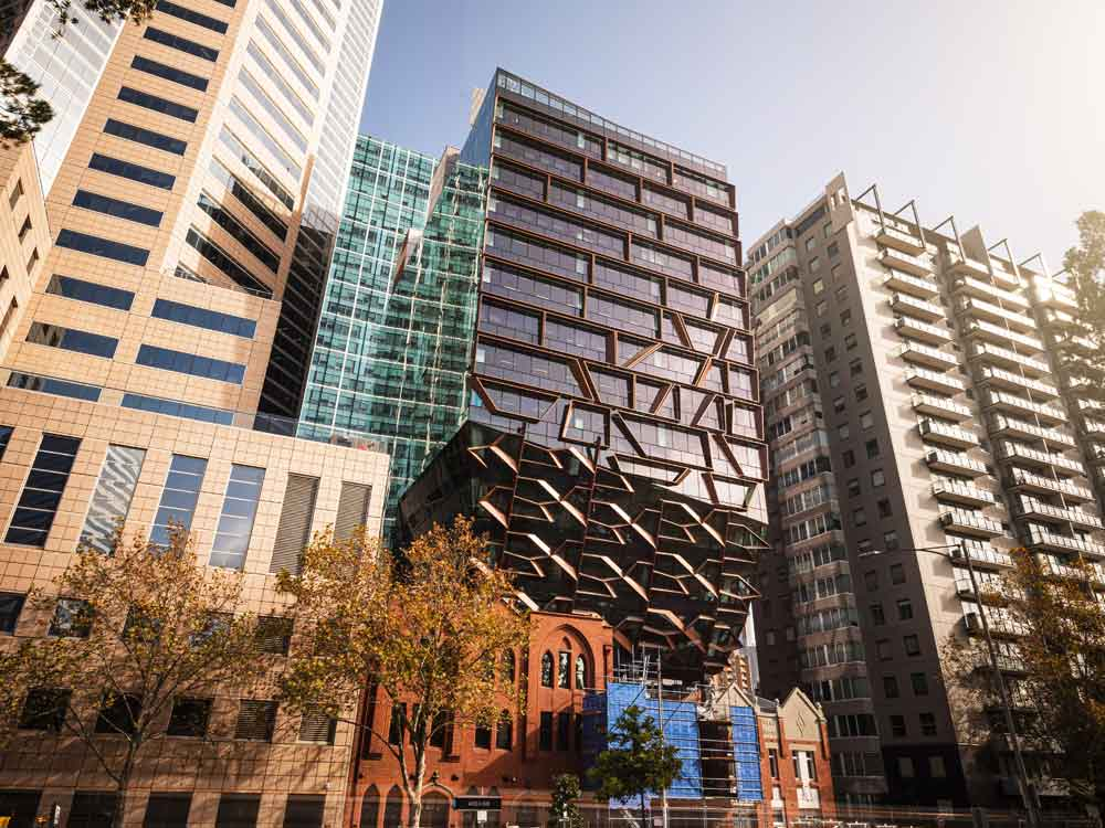New Solar Powered 164m Office Tower Opens In Melbourne