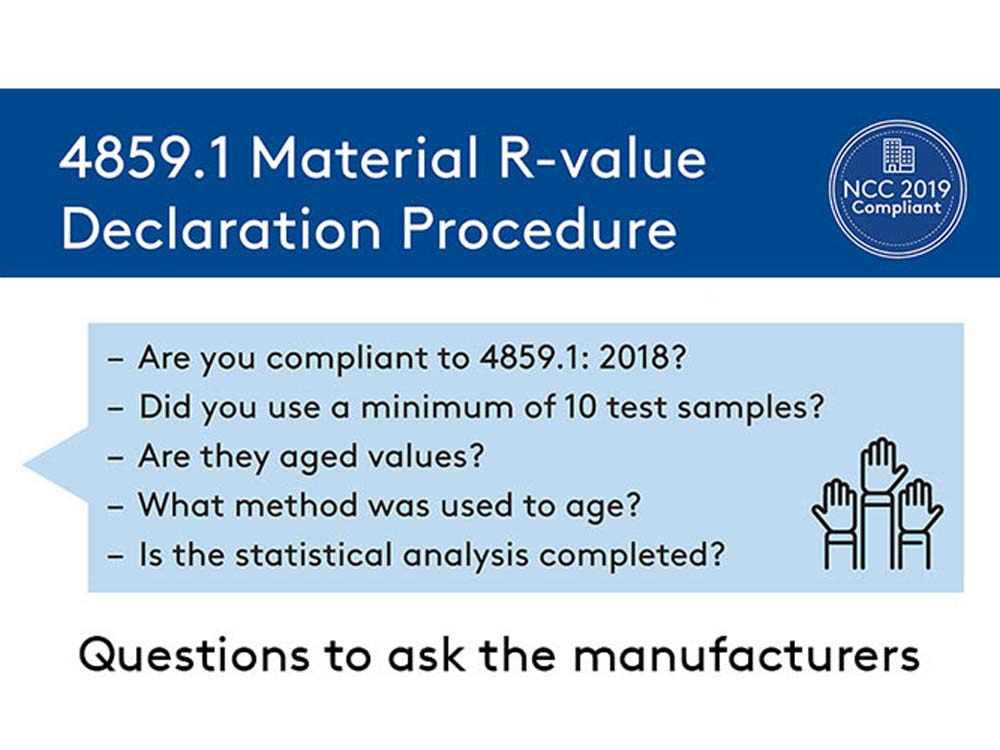 R-Value Declaration Procedure Guide