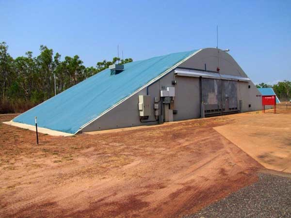 One of Spantech's ESH structures at RAAF Base NT
