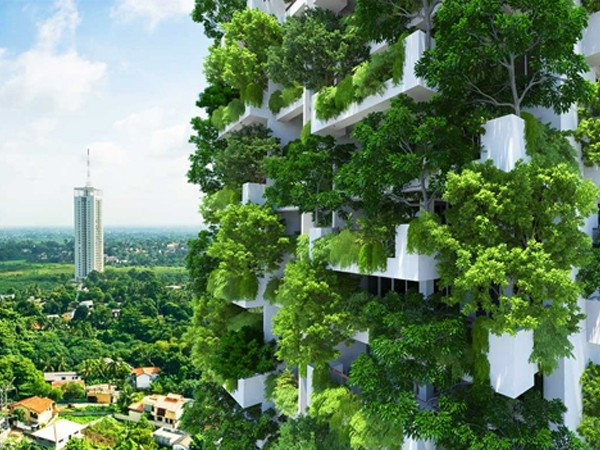 Five Examples Of Vertical Gardens Including A Preview Of The World S Tallest Architecture Design