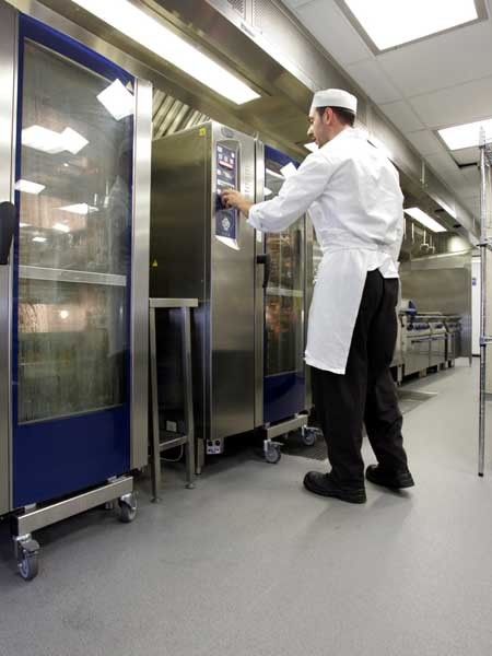 Altro Stronghold K30 incorporates Altro Easyclean technology for easy cleaning