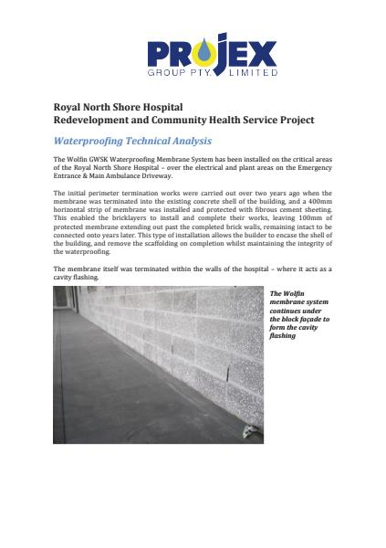 Waterproofing Technical Analysis