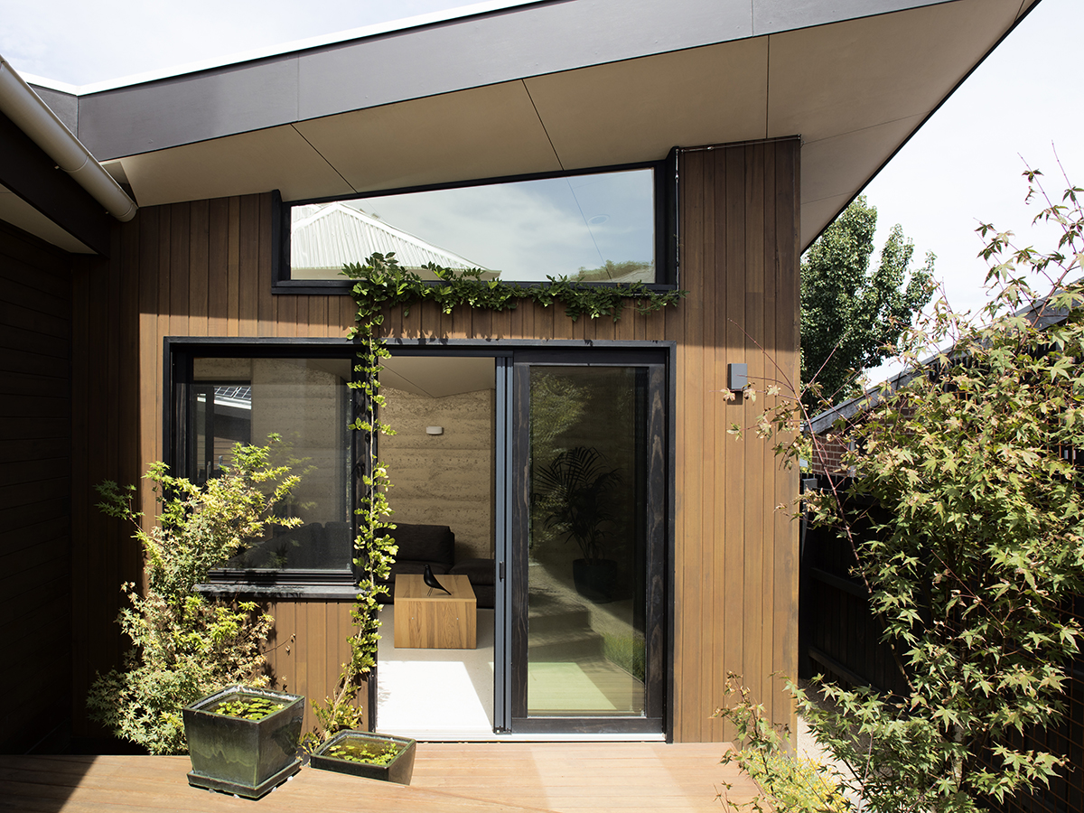 The driving force behind the 'Passive Butterfly' home was to create an exemplar for transforming heritage Australian homes into beautiful and super-efficient passive houses for the 21st century, whilst retaining the heritage aspects of the building. Image: Supplied