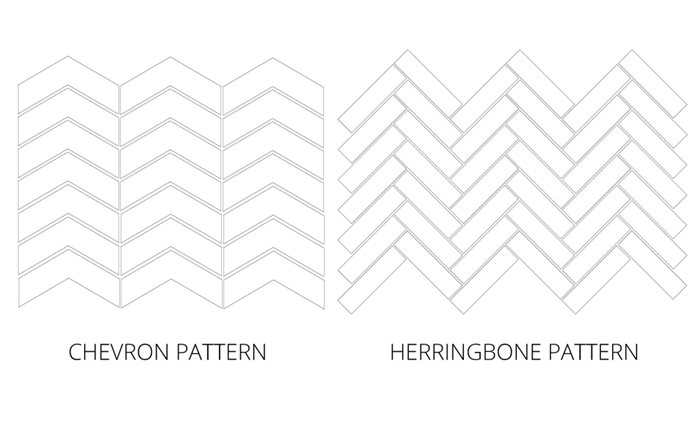 Herringbone Vs Chevron