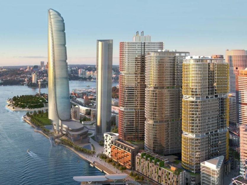Barangaroo is expecting to achieve carbon neutrality