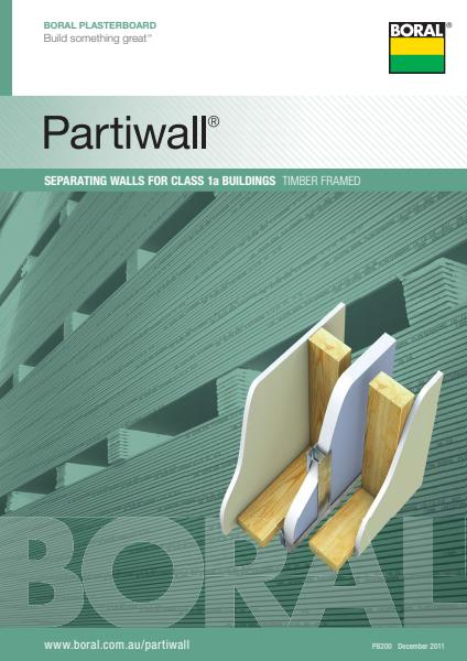 USG Boral Partiwall® Separating Wall System