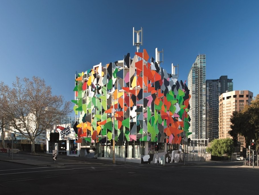 Australia's first carbon neutral office building, Pixel by Studio 505. Photography by Ben Hosking