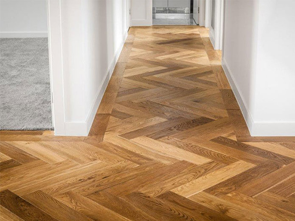Timber floorboards