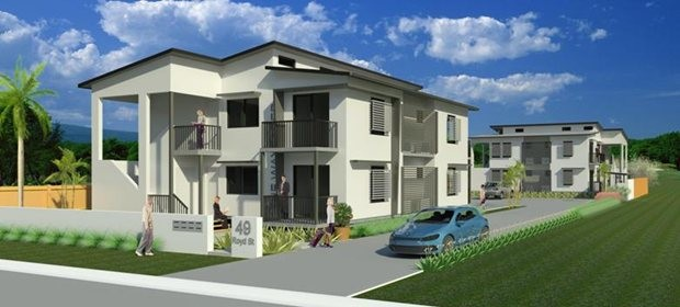 Australia s first two storey integrated modular and flat for Two storey apartment design