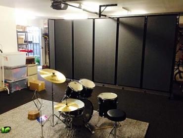 Repurposed Garage Doorperfect For The Back Of New Pergola