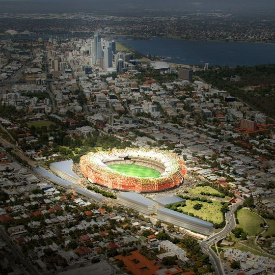 New Perth Stadium Plans Progress: Tenders To Be Called