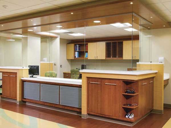 Healthcare design at the JMA Medical Office Building