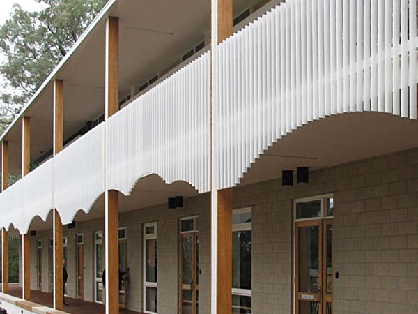 Balustrades at Carrington Centennial Care Centre