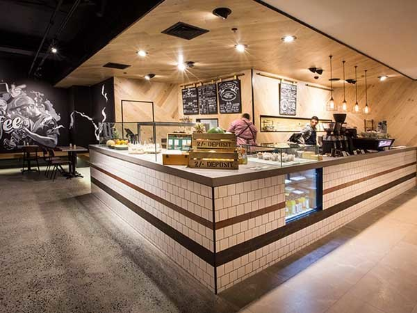 TAP Espresso & Salad Bar (Photographer: Ben Cole Photography)