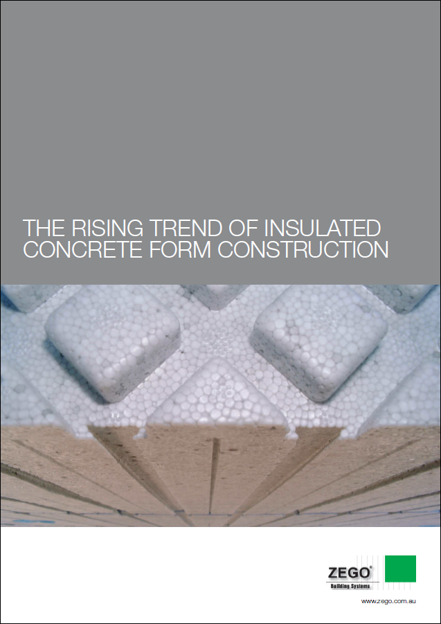 The rising trend of insulated concrete form construction for Insulated concrete form construction