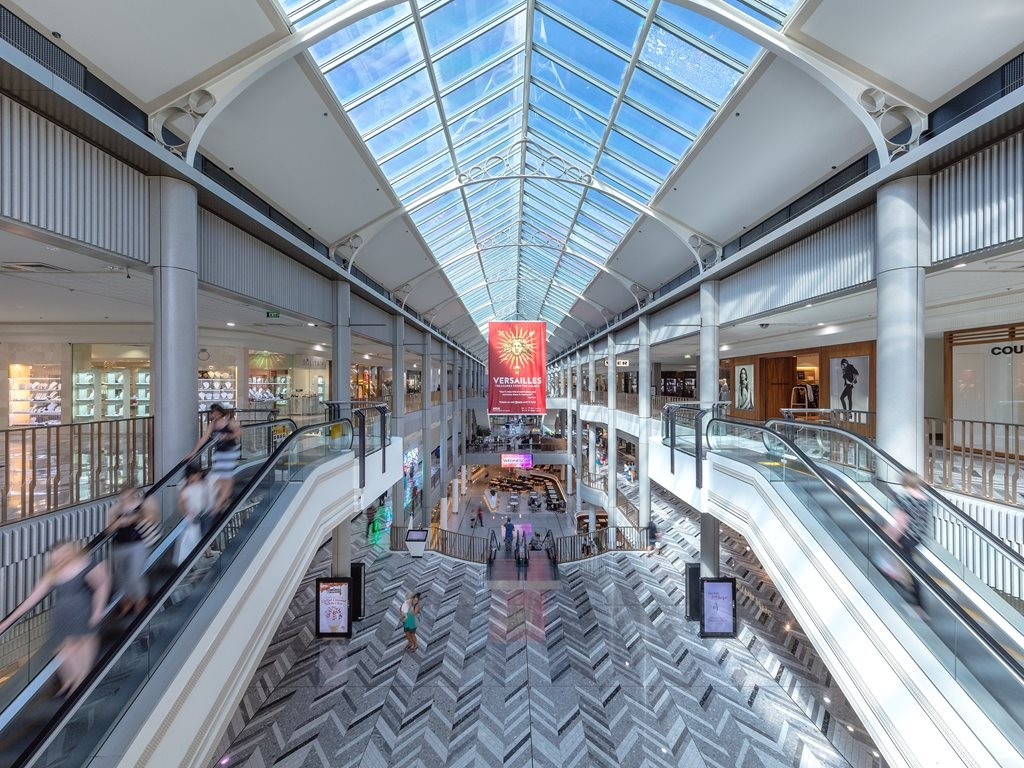 Canberra Shopping Centre Modernised With Custom Corian
