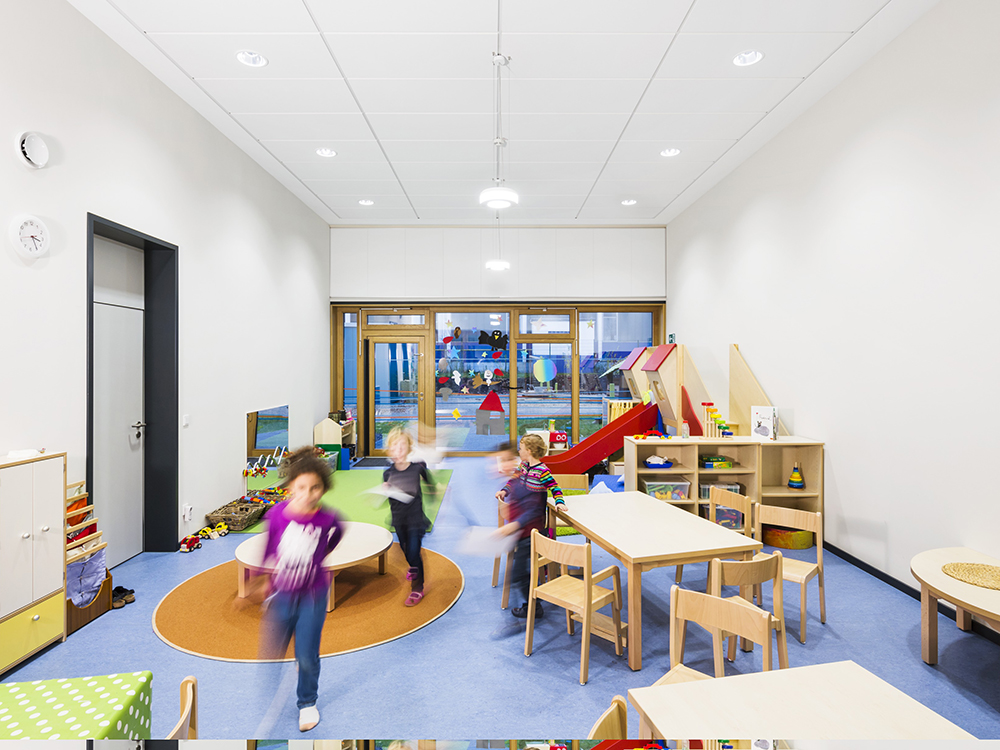 Managing noise in the classroom is relatively easy if tackled early enough in the design process