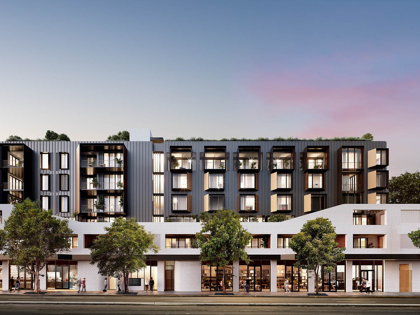 The Rathbone by AVID Property Group (AVID) – a new terrace-style apartment project in Surry Hills – has received a national environmental accreditation, in the form of a six 'Leaf' EnviroDevelopment certification from the Urban Development Institute of Australia (UDIA). Image: Supplied
