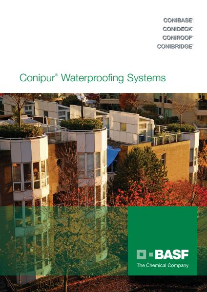 Conipur Waterproofing Systems