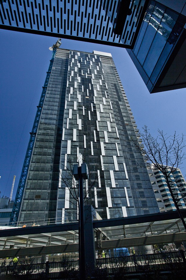 Glass Curtain Wall Architecture : Sydney s tallest residential building in chatswood