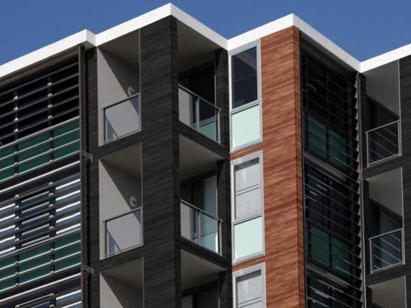 New aluminium exterior cladding with non combustible properties: Alu