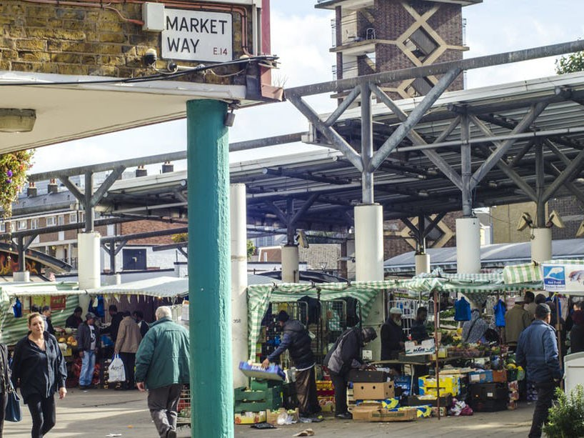 Local traders win the day at Chrisp Street Market. Image: Shutterstock.