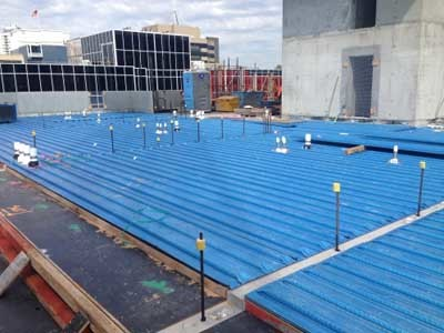 Fielders KingFlor composite steel formwork has become the flooring system of choice for multi-storey building projects