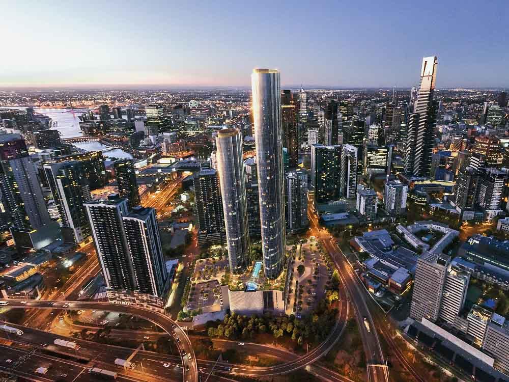 Cox Architecture Designed Melbourne Square Wins Property