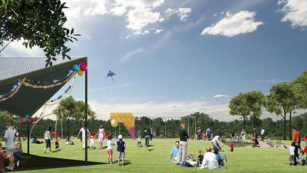 Western sydney bungarribee super park plans unveiled architecture and design - The urban treehouse the wonder in the heart of berlin ...