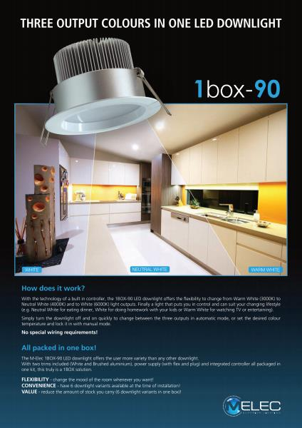M-Elec 1BOX-90 LED Downlight