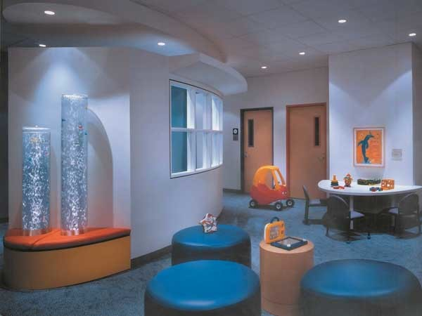 The internal walls, floors and ceilings play a significant role in good design for effective infection control