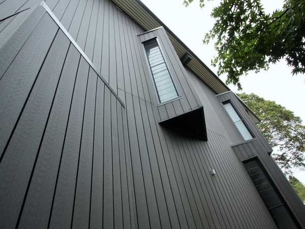 Futurewood's weatherproof, architectural cladding