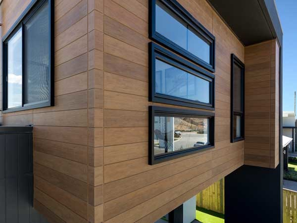 Stroud Homes Display Home Achieves Natural Timber Look
